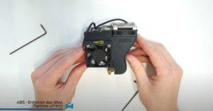 Entretien tête imprimante 3D